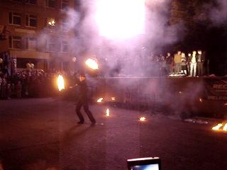 28.06.2014 - г.Губкин fire show from Belgorod (1 часть)