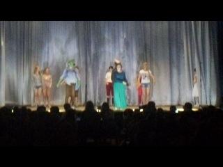 Танец Фионы и Шрека