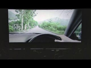 Отвлечение на мобильный телефон во время вождения РЕКЛАМА