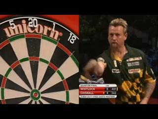 Simon Whitlock vs Dave Chisnall (2014 Dubai Duty Free Darts Masters / Quarter Final)