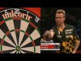 Simon Whitlock vs Dave Chisnall (2014 Dubai Duty Free Darts Masters Quarter Final)