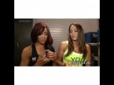 The Bella Twins - Brianna and Nicole Segment Nikki Bella &amp Alicia Fox. (1)