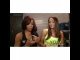 The Bella Twins - Brianna and Nicole Segment Nikki Bella &amp Alicia Fox. (1)