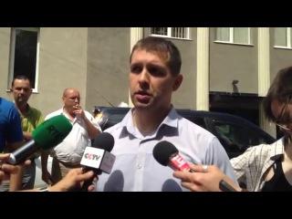 Комментарий следователя у морга в Донецке