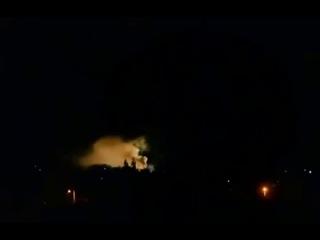 Донецк 01 07 2014 война  артиллерийские удары! небесные огни