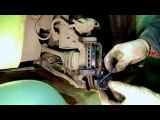 Замена тормозных колодок на Geely MK, Cross