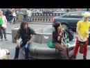 Уличные музыканты Питера - 2