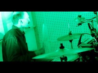 Запись ударных инструментов.Звук до озвучивания барабанов.ЧАСТЬ 1.