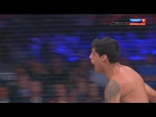 Shahbulat Shamhalaev vs Fabricio Guerreiro.