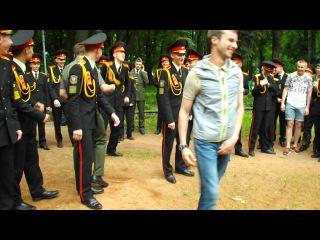 выпуск из Минского суворовского военного училища