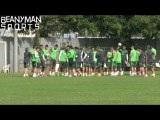 World Cup 2014 - Mexico Defender Miguel Layun Kicked & Hit By Mexico Squad