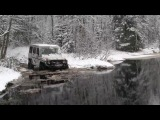 OffRoad 4х4 Мерседес G-class in deep water ГЕЛИК Extrem 4x4