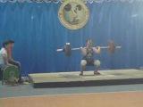 Гойденко Денис(категория 85kg)толчек 130kg