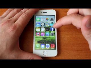 Обзор iphone 5s гуфон i5s MTK6582 4 ядра