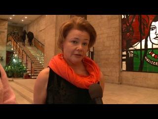 Информационный сюжет из Дома Кино о постпремьерном показе художественного фильма о Марине Цветаевой