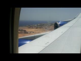 моя первая посадка в самолете. Боинг 747-400. Шарм-эль-Шейх