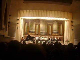 Эстрадный оркестр St. Tomas - отчётный концерт ДОСМШИ для одарённых детей. 28.04.2014