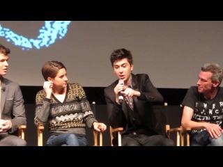 Пресс-конференция фильма 'Виноваты звезды' 4 мая, 2014.