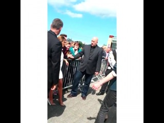 Шерил Коул на прослушиваниях X-Factor в Ньюкастле видео 2 26.06.14
