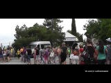 30.05.2014 Дети из Славянска прибыли в Россию  в Крым