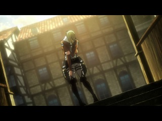 Атака Титанов Смех Энни