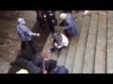 Озверевшие ватники избили нескольких парней на выходе со ст.