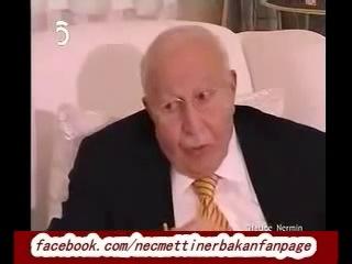 Erbakan Hoca Nermin Erbakanın vefatının ardından