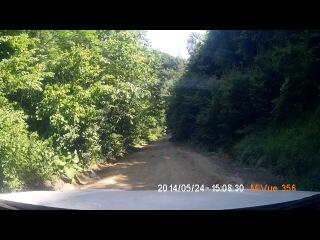 Суровая дорога в Планческую авто - Чери Тигго рестайлинг 2013 часть 6
