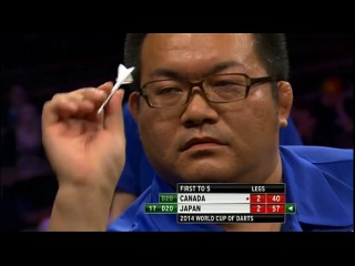 Canada vs Japan (PDC World Cup of Darts 2014 / First Round)