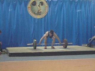 Гойденко Денис(категория 85kg)рывок 100kg