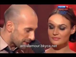 Танцы со звездами танго Алена Водонаева и Евгений Попунаишвили