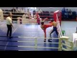 Жесткий хай-кик в финале на первенстве России