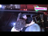 Marilyn Manson & Lindsay Usich set off for happy ending departing Warwick Hollywood