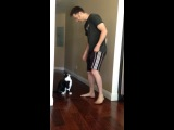 Обнимашки с котиком