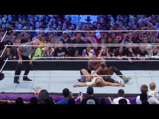 WWE - Randy Orton (c) vs. Batista vs. Daniel Bryan (WWE World Heavyweight Title Triple Threat Match) (06.04.2014)