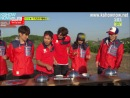 Running Man EP 199 [Eng Sub] : 2014 Dream Cup Boot Camp Training: Park Ji Sung, Cha Bum Geun, Lee Chang Min (2AM), Kim Dong Jun (ZE:A), Yoon Doo Joon (BEAST), Lee Ki Kwang (BEAST), Yang Yoseob (BEAST), Lee Min Hyuk (BtoB), Baro (B1A4), Leo (VIXX), Seol Ki Hyun
