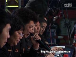 2013年全国武术对练大奖赛 女子 010 双刀进枪 马金 董远源(重庆)