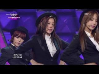 [PERF] Girl's Day, AOA, BESTie - Mr. Mr. (SNSD) (KBS Music Bank/140627)