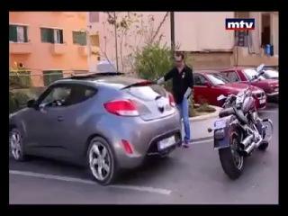 Pomakni parkiran auto, a motocikl? Перемещение припаркованный автомобиль и мотоцикл?