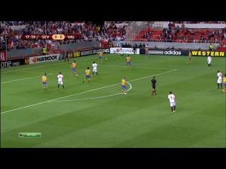 Лига Европы 2013-2014 / 1/2 финала / Первый матч / Севилья (Испания) — Валенсия (Испания) / НТВ+ [24.04.2014