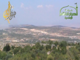 Syria Idleb.Атака ПТУРом Конкурс на танк САА 19 06 2013