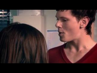 Скинс 3.01 - Эффи и Кук в кабинете медсестры
