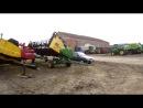 Кукурудзяні та зернові жатки