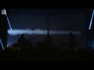 MODERAT (live in Prague) perform