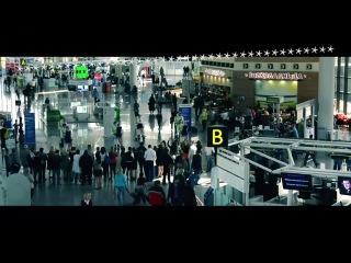 Флэшмоб в Международном аэропорту Сочи, 12 апреля 2014