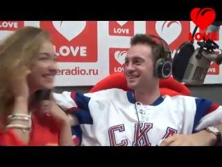 ● Александр Соколовский и Юлия Маргулис на Love Radio