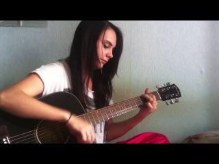 красивая девушка классно поет,круто поет,шикарный голос,талант,поет песню -Сплин - Выхода нет (acoustic cover)