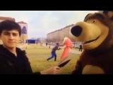 Чечня. Драка в прямом эфире Маша и Медведь