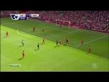 Чемпионат Англии / Ливерпуль 2-1 Саутгемптон  / Обзор / Голы / 17.08.2014 [HD 720p]