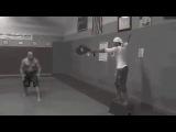 Тони Джаа и Вин Дизель тренировка Форсаж 7